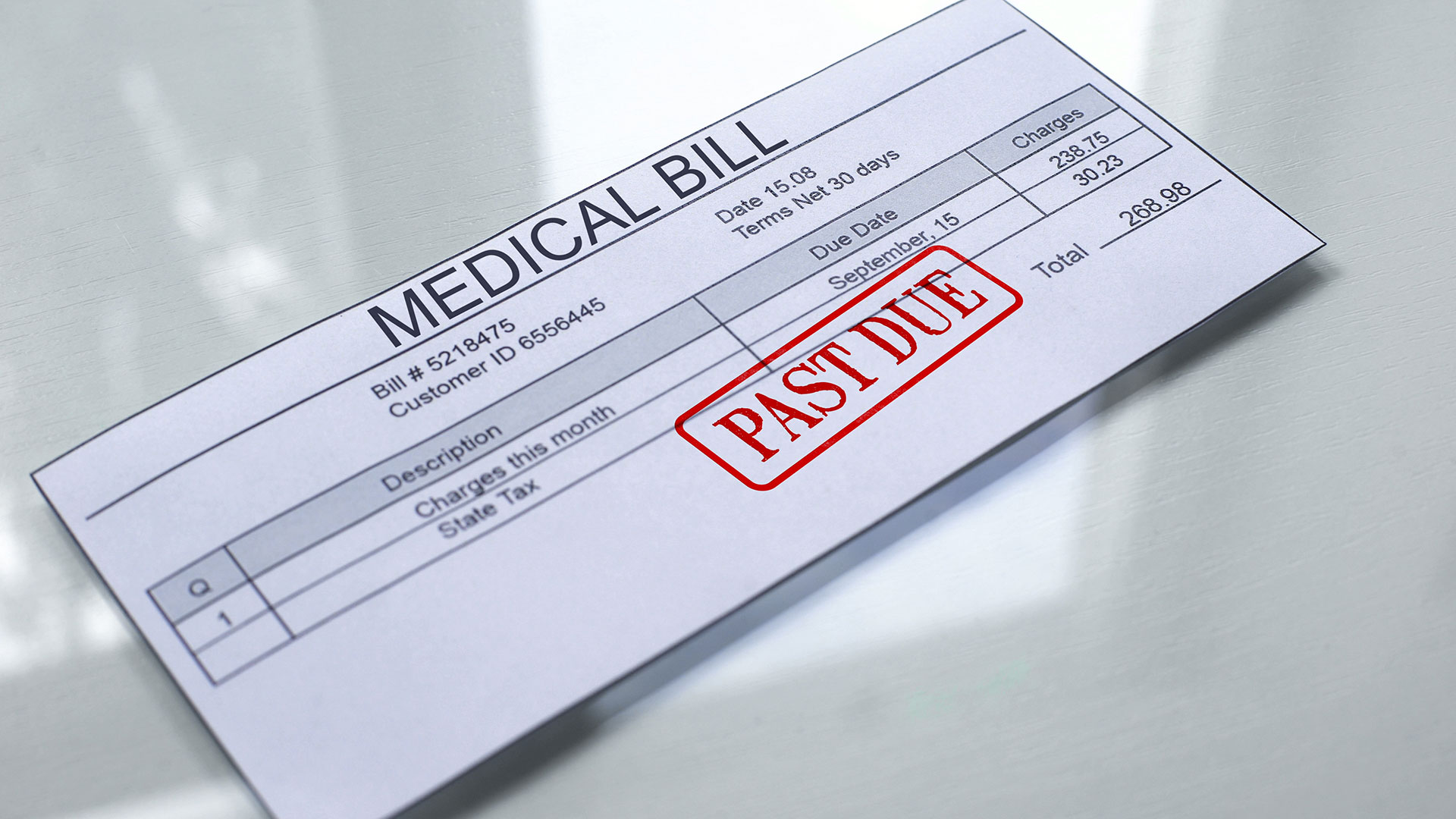 Medical Bills From Personal Injury settlement
