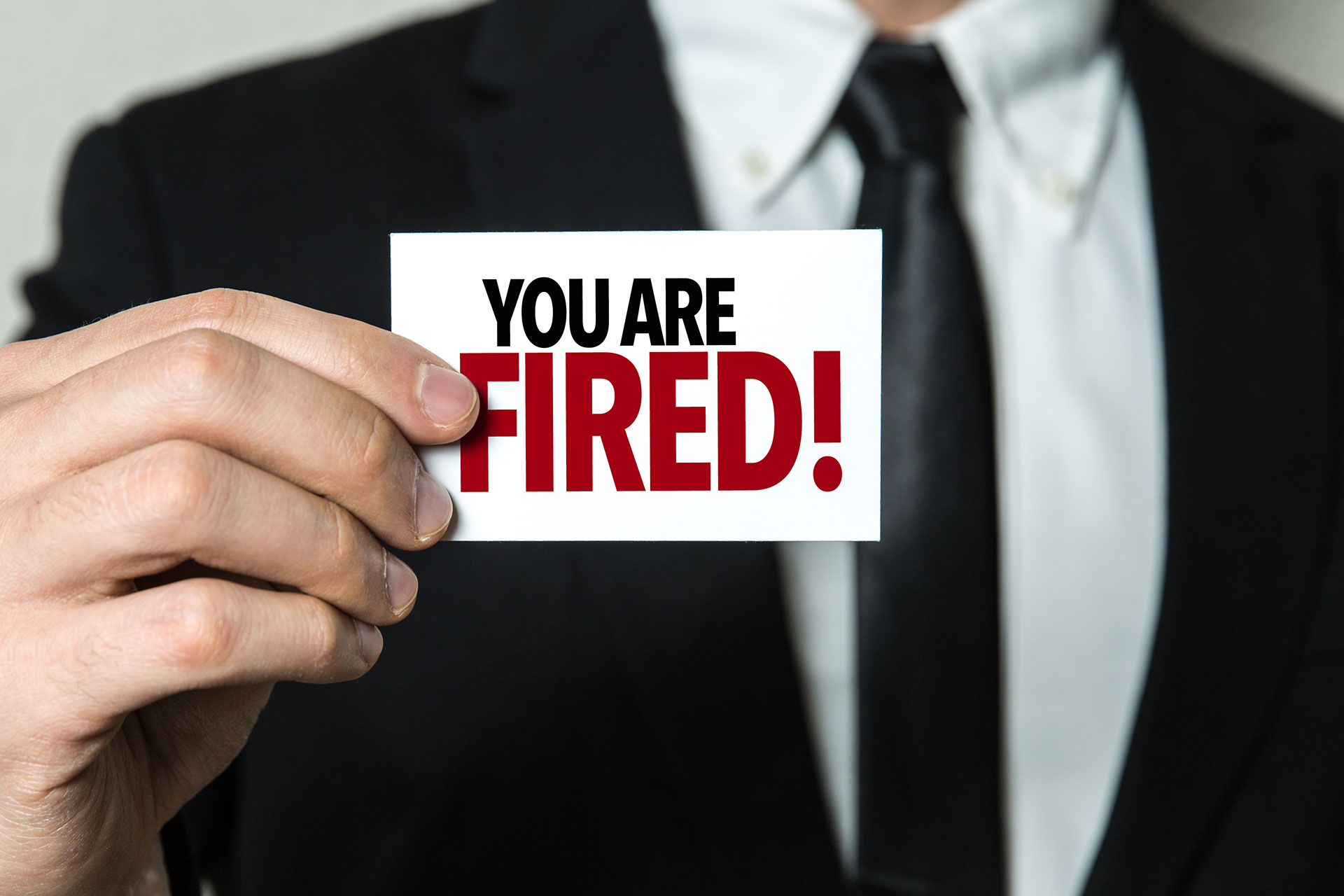 Fired While Out on Workers' Compensation Claim