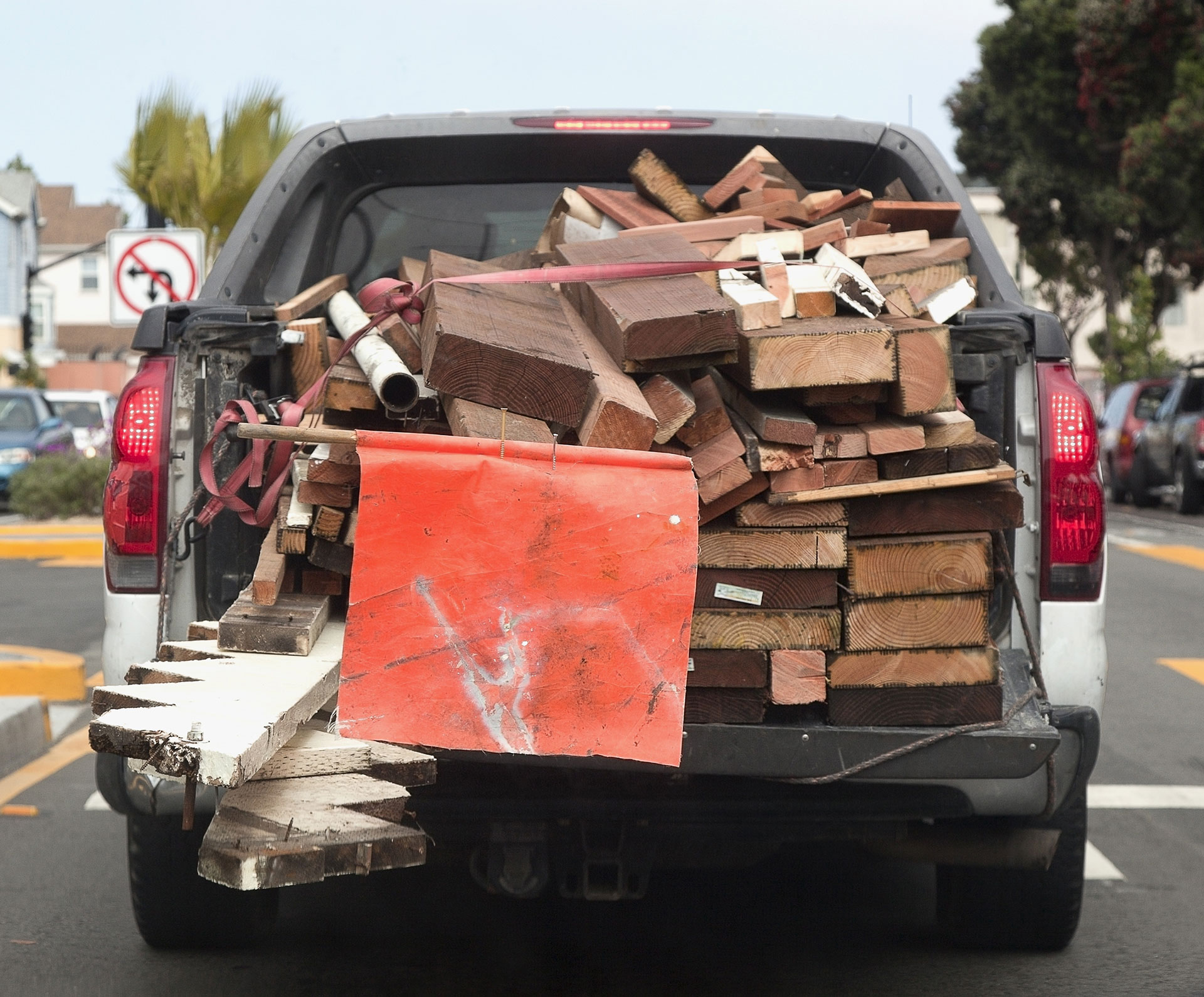 Sue for Car Accident Injuries from Road Debris